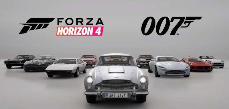 Bond wkracza do Forza Horizon 4. Zwiastun tematycznego dodatku do gry
