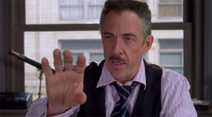 Spider-Man - J.K. Simmons znów chce zdjęcia Pajączka na pierwszej stronie! Nagranie z 2001 roku