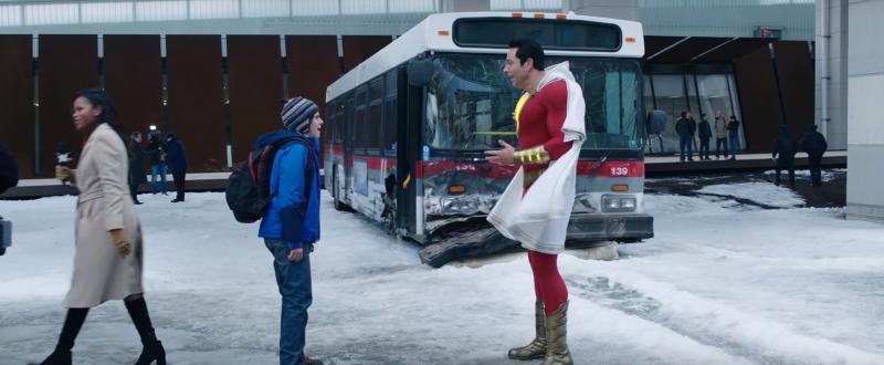 Shazam! 2 - zdjęcie z planu filmu ujawnia niespodziewany powrót bohatera z pierwszej części