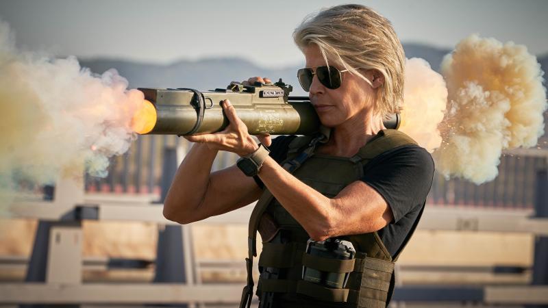 Terminator: Mroczne przeznaczenie - nowe zdjęcia z filmu. Hamilton o powrocie do roli