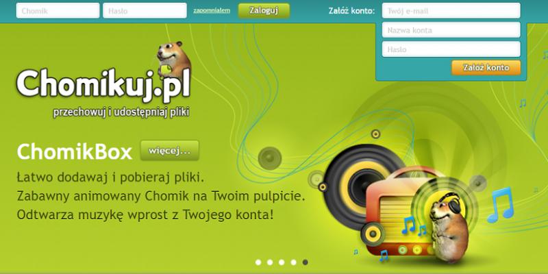 Chomikuj.pl na celowników RIAA. Organizacja chce wiedzieć, kto stoi za tą stroną