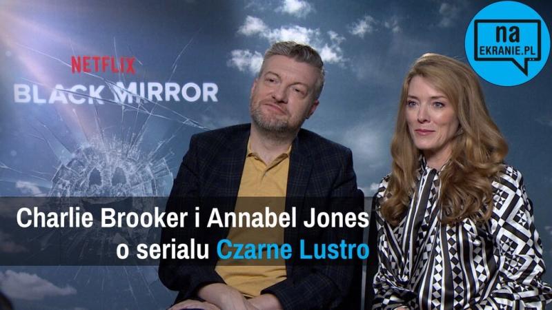 Charlie Brooker i Annabel Jones o 5. sezonie serialu Czarne lustro [WYWIAD WIDEO]