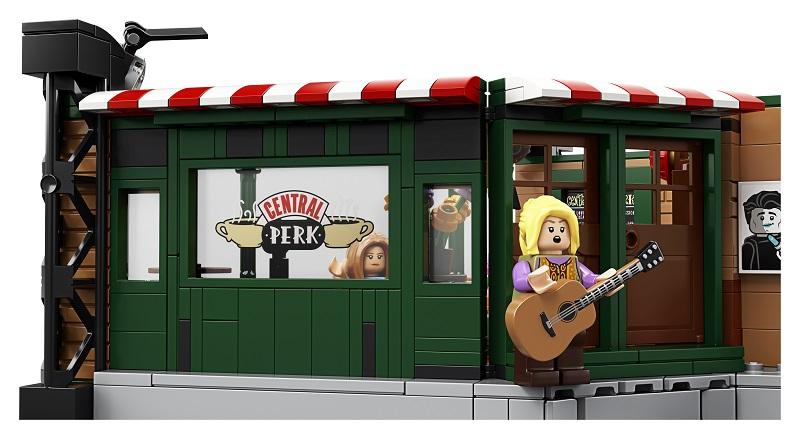 Przyjaciele - specjalny zestaw LEGO z okazji 25-lecia serialu. Nowe zdjęcia