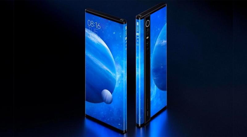 Xiaomi stworzyło telefon z ekranem owiniętym wokół obudowy