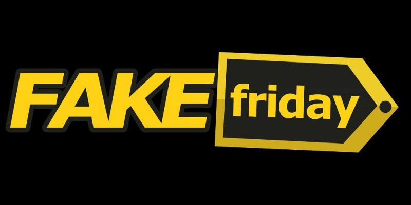 Black Friday - strona Fake Friday poinformuje o fałszywych przecenach