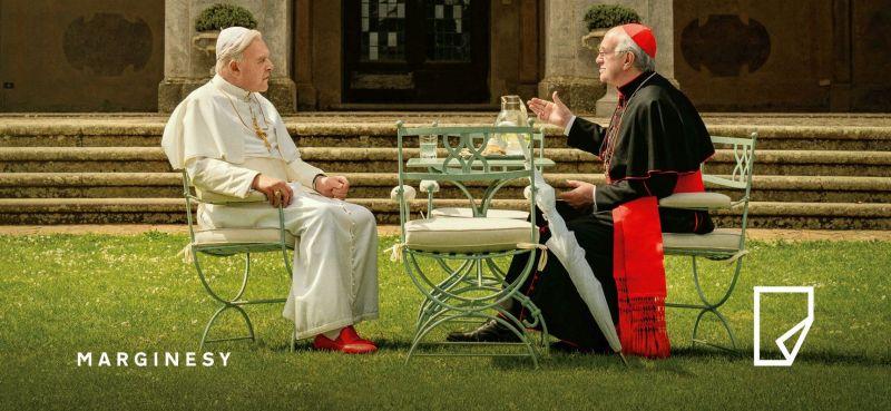Dwóch papieży: wkrótce książka scenarzysty filmu Netfliksa