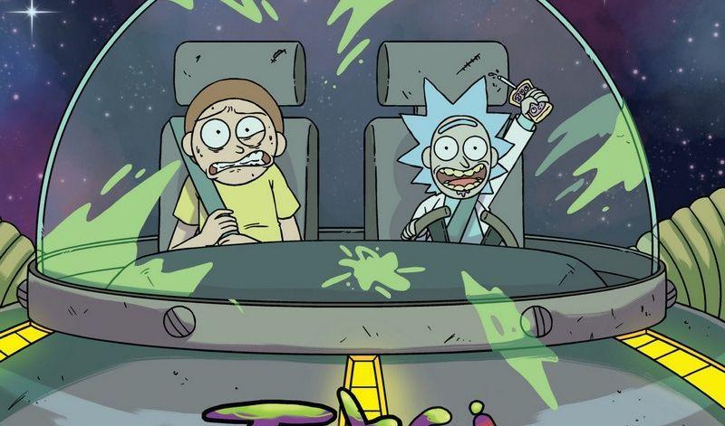 Rick i Morty. Tomy 4-5 - recenzja komiksów