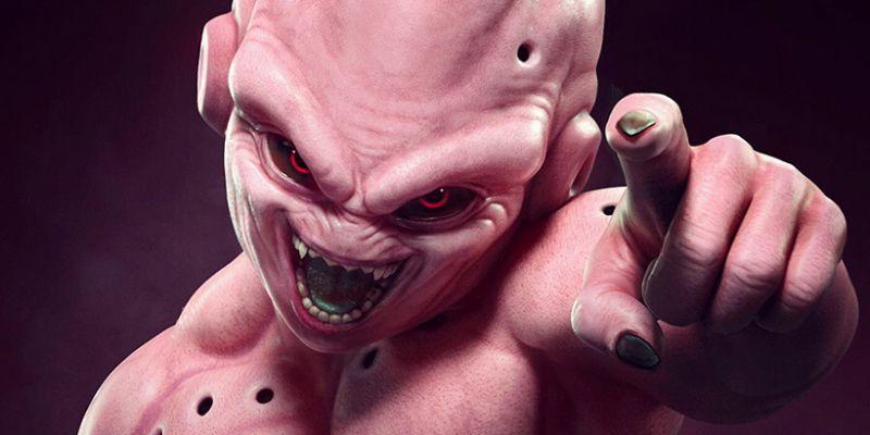 Majin Buu z Dragon Ball Z jak żywy. Zobacz pracę artysty znanego z God of War