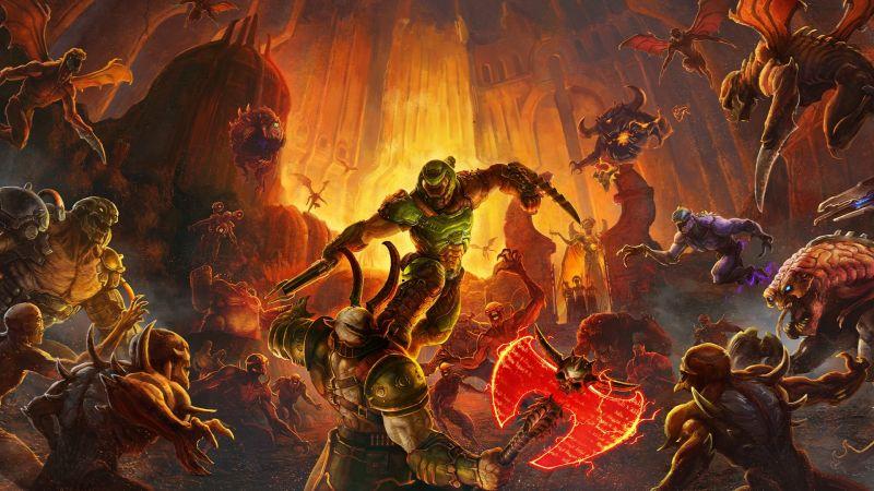 Xbox Series X - Doom Eternal ładuje się błyskawicznie. Ten wynik robi wrażenie