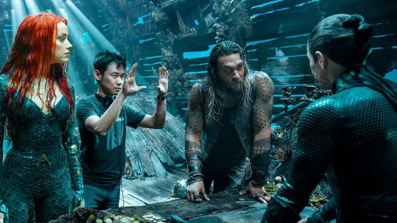 Aquaman 2 - Jason Momoa przybył na plan filmu