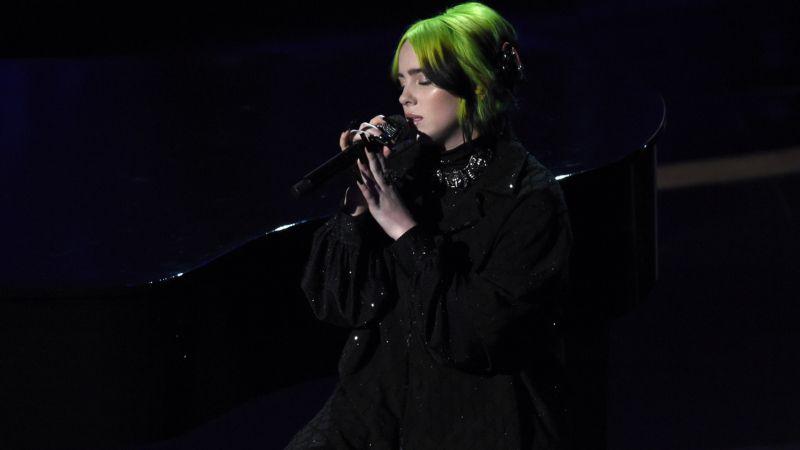 Billie Eilish (Oscary 2020) - występ na gali honoruje zmarłe gwiazdy [WIDEO]