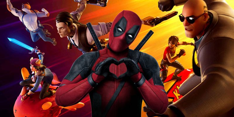 Fortnite - Deadpool in the game. You can see the Trailer of the new season in the UEFA Cup
