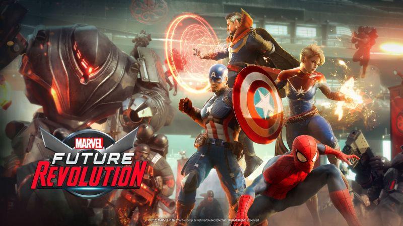Marvel Future Revolution - zobacz zwiastun gry mobilnej z otwartym światem