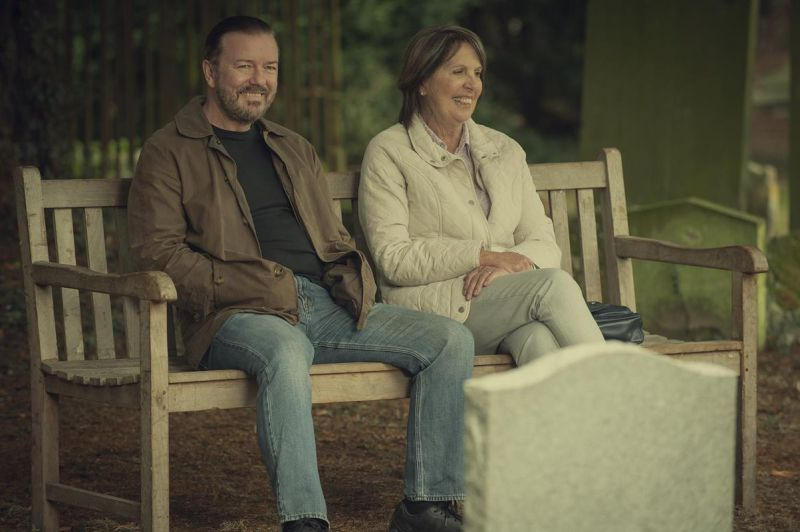 After Life - zwiastun 2. sezonu serialu Ricky'ego Gervaisa
