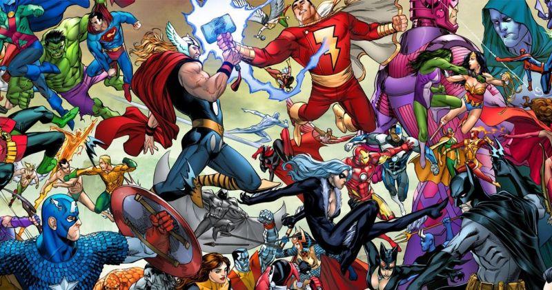 Marvel vs. DC - crossover jednak możliwy? Pierwsze pomysły; twórcy idą na odsiecz