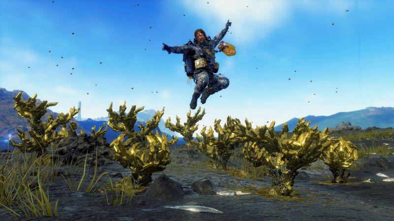 Death Stranding z trybem fotograficznym na PlayStation 4