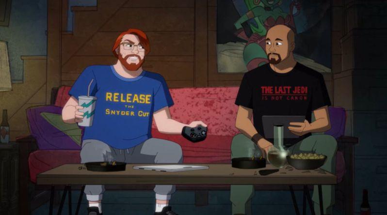 Ostatni Jedi i Snyder Cut - serial Harley Quinn żartuje z fandomu. Wyszło świetnie