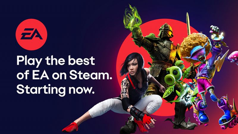 Ponad 25 gier EA trafiło na Steam. Usługa EA Access również pojawi się na platformie Valve