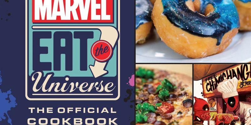 Marvel wydaje książkę kucharską. Upichć sobie chimichangę Deadpoola i langustę Logana