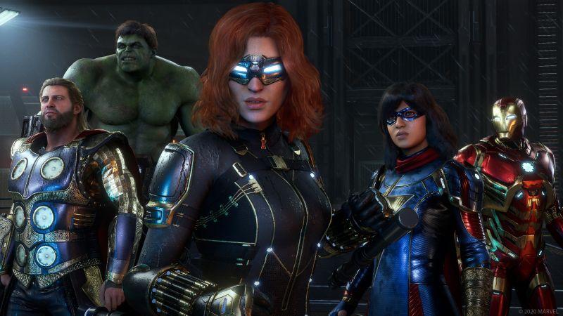 Marvel's Avengers sprawdzimy przed premierą. Testy beta z datą startu