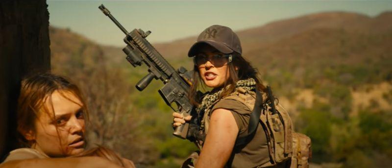 Rogue - zwiastun filmu akcji. Megan Fox kontra lwy