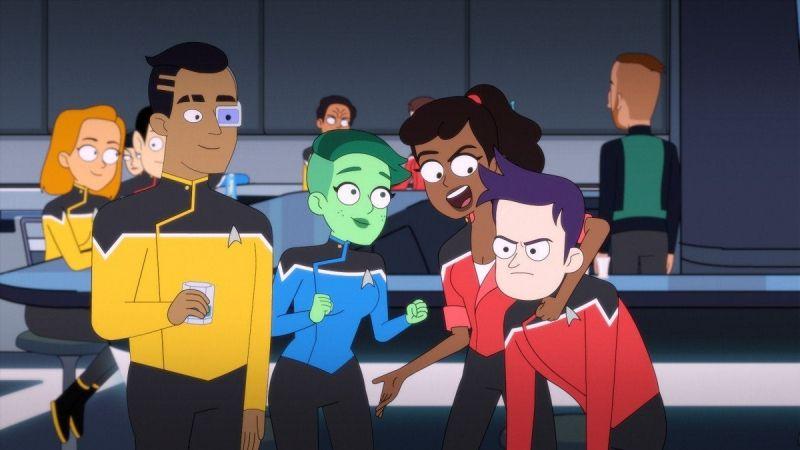 Star Trek: Lower Decks - zobacz pierwszą scenę z serialu animowanego CBS All Access
