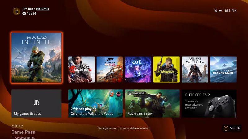 Microsoft ujawnił wygląd nowego interfejsu Xboxa