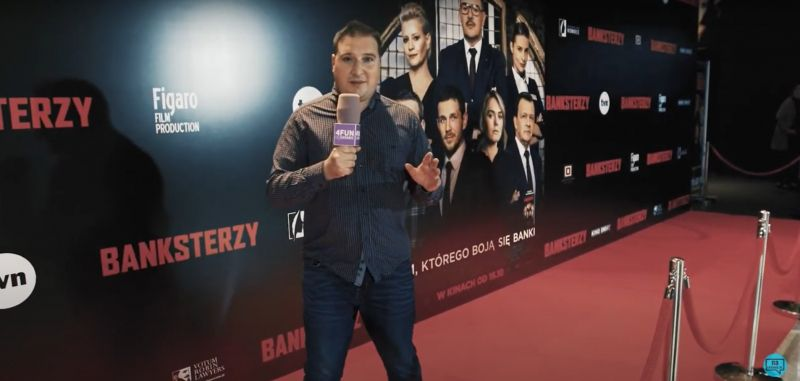 Banksterzy - relacja z uroczystej premiery. Rozmawiamy z aktorami [VIDEO]