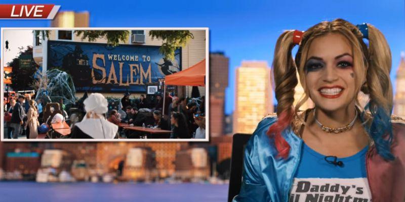 Hubie ratuje Halloween - prezenterka telewizyjna zwolniona z pracy za cameo w filmie
