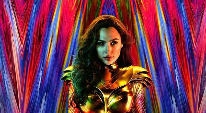 Wonder Woman 1984 - bohaterka w zbroi na międzynarodowym plakacie filmu