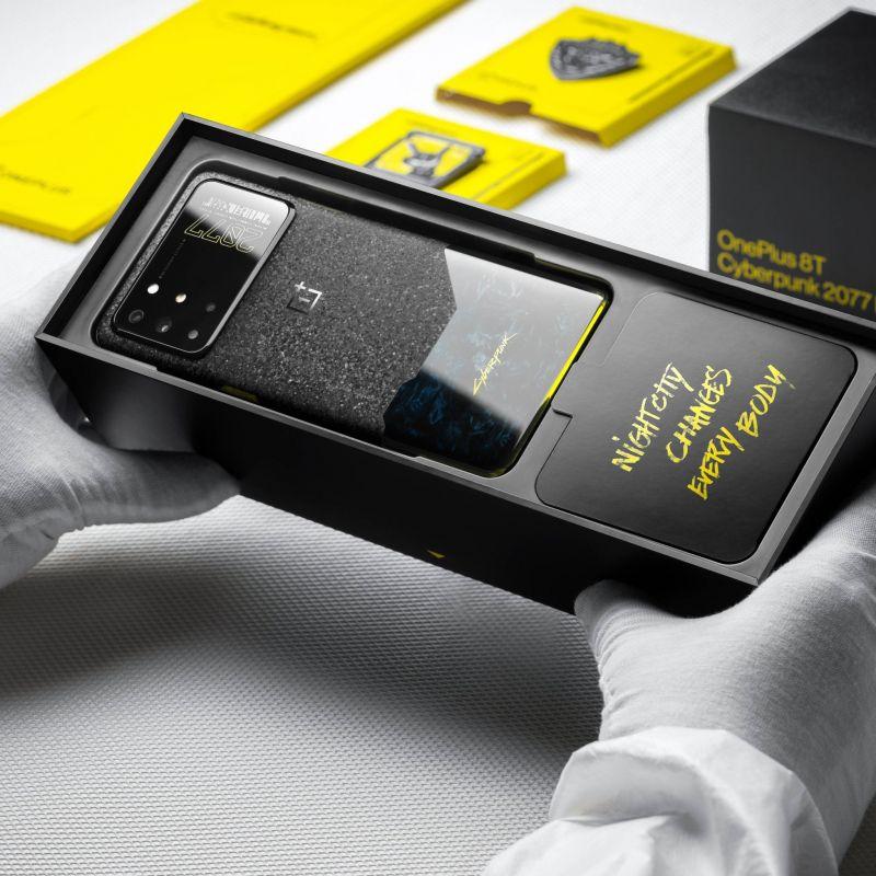 OnePlus 8T Cyberpunk 2077 - tak wygląda smartfon dla miłośników cyberpunka