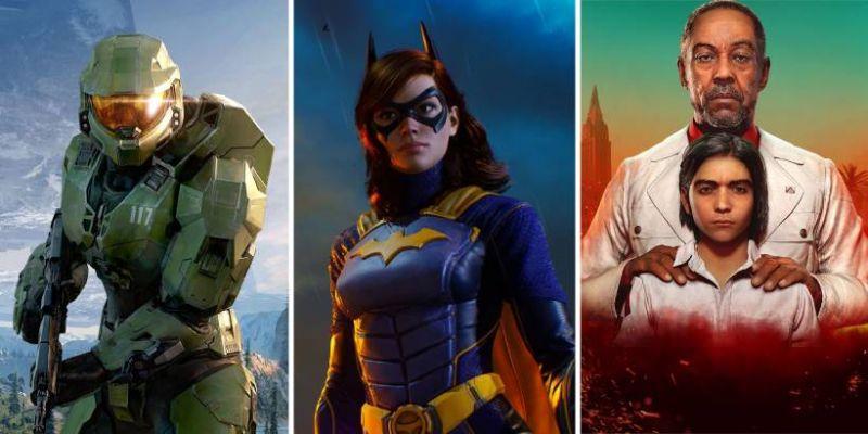 GRY 2021 – premiery: Gotham Knights, Far Cry 6, Halo Infinite i znacznie więcej!