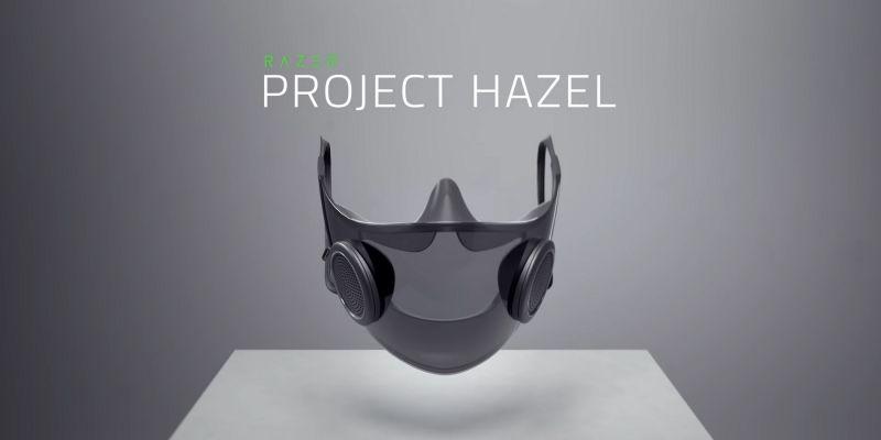 Project Hazel - Razer ujawnił, kiedy inteligentne maski trafią do sprzedaży