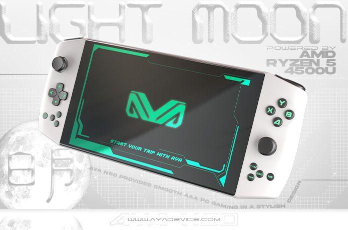 Aya Neo – kieszonkowa konsola z Ryzenem 5 trafiła na Indiegogo