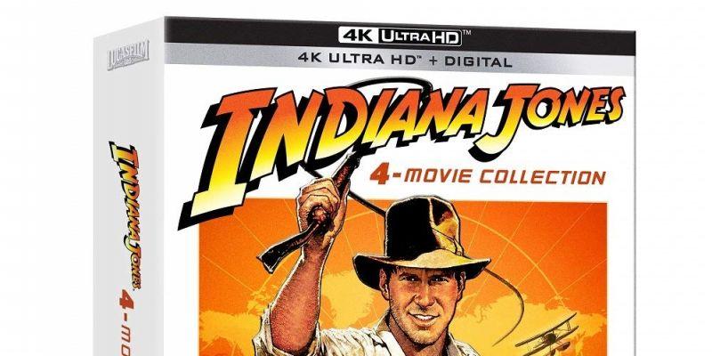 Seria Indian Jones doczeka się pięciopłytowego wydania 4K Blu-ray