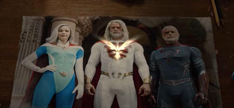 Dziedzictwo Jowisza - tak wyglądają postacie z komiksu. Wideo promuje serial Netflixa
