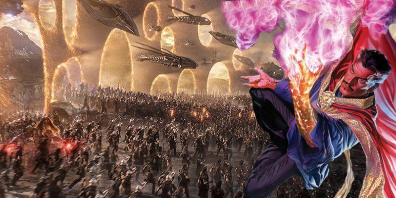 Marvel - seria Thor jak Avengers: Endgame. Doktor Strange i portale - tak się broni Asgard!