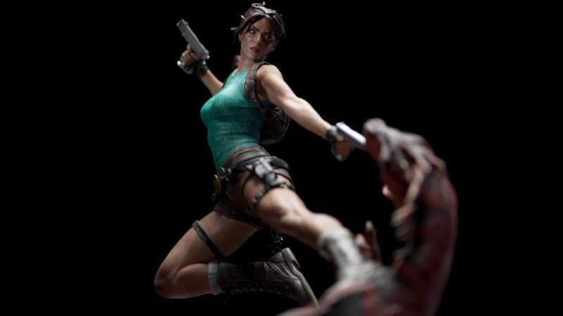 Lara Croft z pierwszej części Tomb Raidera jak żywa! Zobacz świetną figurkę od Weta Workshop