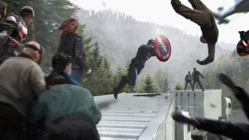 Falcon i Zimowy Żołnierz - ujawniono film z prac nad efektami specjalnymi