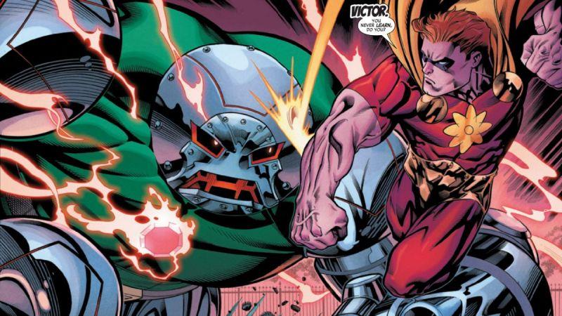 Marvel - Baron Zemo prowadzi Avengers, Doktor Doom jako Juggernaut atakuje Biały Dom!
