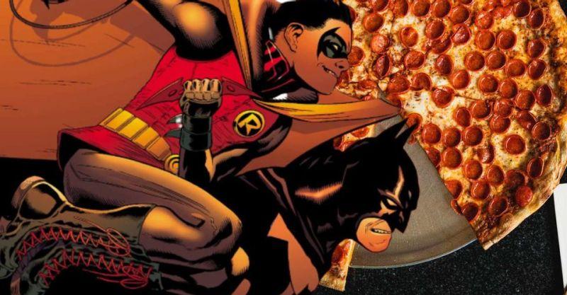 Batman i Robin prawie pokonani przez zatrutą pizzę. Nowy plan Ligi Zabójców