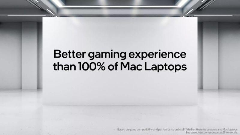 Intel: komputery Apple nie nadają się do grania