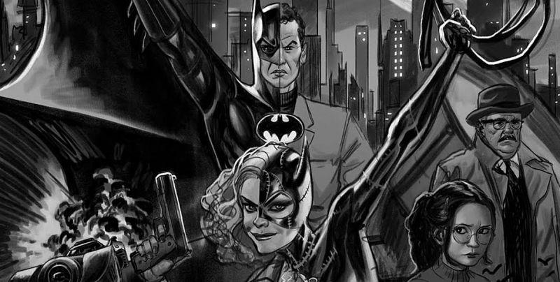 Batman '89 - komiks wprowadzi do filmowego uniwersum Robina. Jest też Two-Face po przemianie