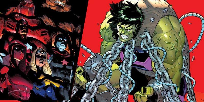 Avengers z Rosji vs. Mściciele i tortury bohaterki. Tak zacznie się Wielka Wojna She-Hulk