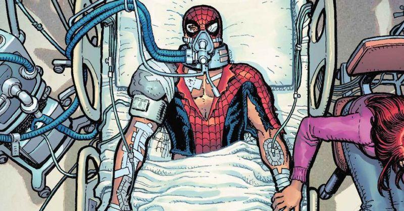Marvel - Spider-Man umiera pod respiratorem. Nowa era nadchodzi; jest następca