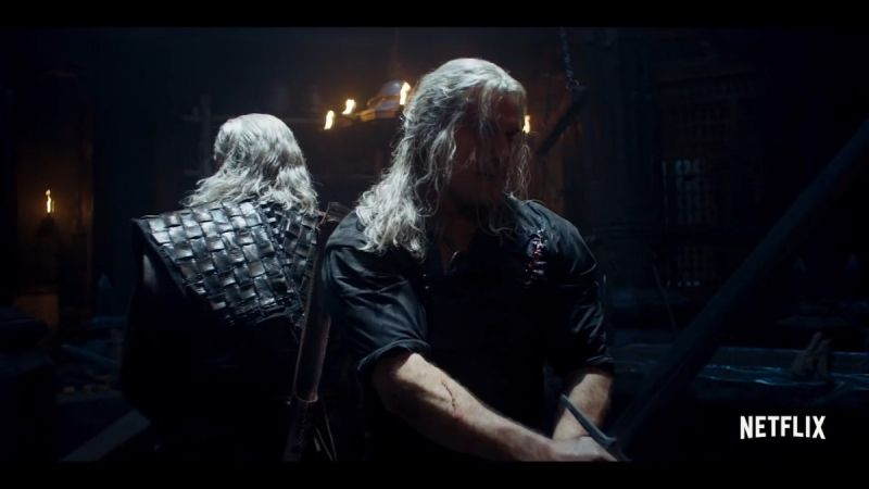 Wiedźmin - nowe zdjęcie z 2. sezonu. Geralt gotowy do walki
