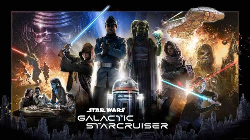 Star Wars: Galactic Starcruiser - plakat immersyjnego doświadczenia ze świata Star Wars