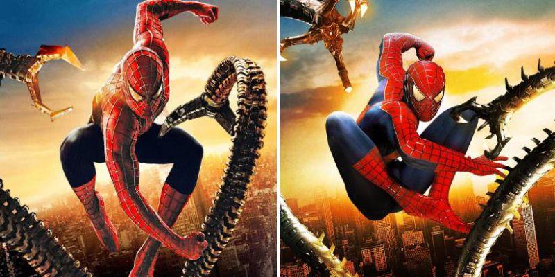 Spider-Man - filmowe plakaty odtworzone w grze na PS5. Imponujące wykorzystanie trybu fotograficznego