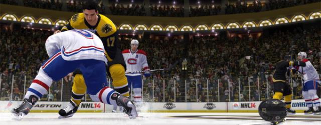 """Nowy system sterowania w """"NHL 14"""""""