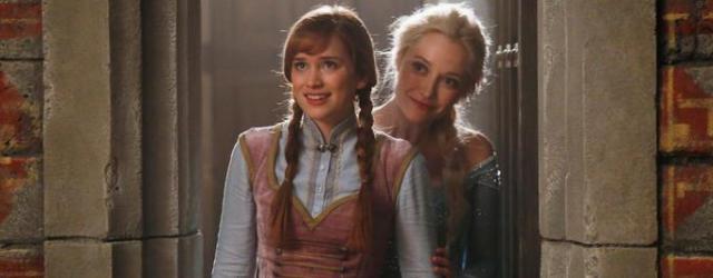 """Anna i Elsa z hitu """"Kraina lodu"""" w """"Dawno, dawno temu"""" – nowe zdjęcie"""
